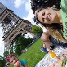 Picnic na Torre Eiffel